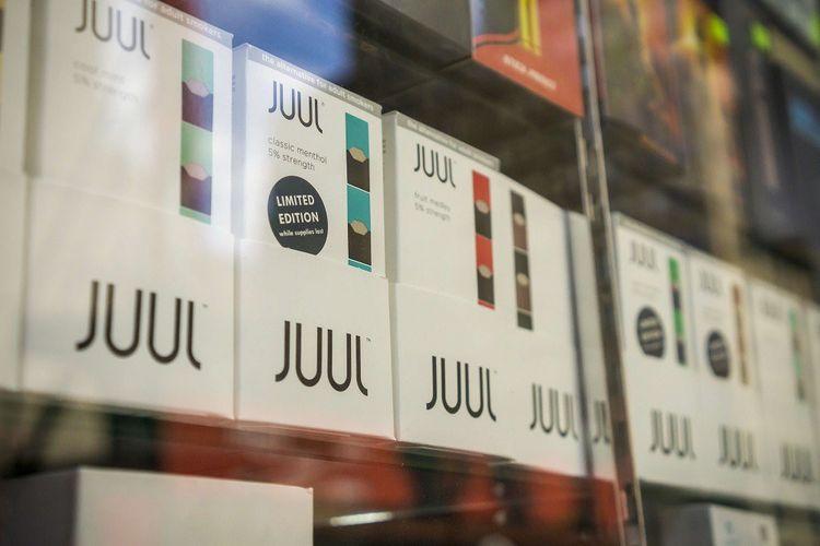 La marque Juul détient 70% du marché américain des cartouches de cigarettes électroniques.
