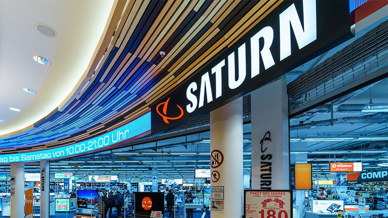 Ceconomy exploite plus de 1.000 magasins Saturn et Media Markt en Europe.