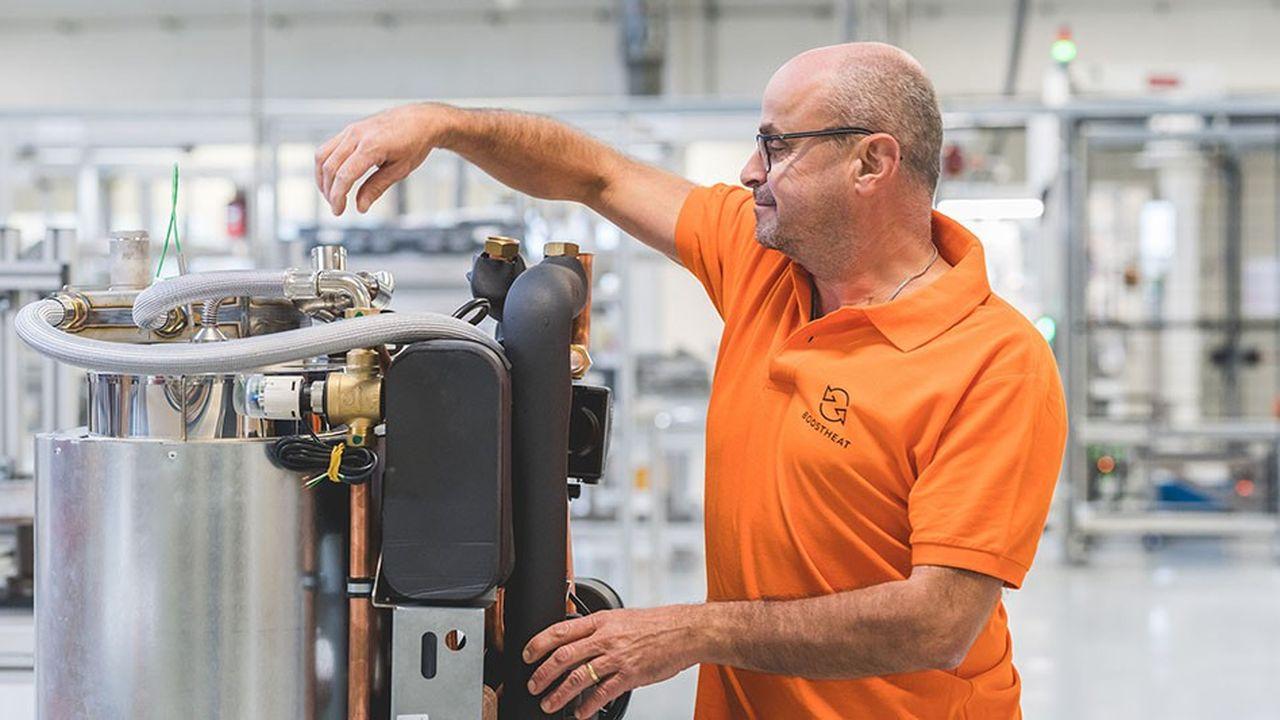 Boostheat a inauguré sa ligne de production dans le hangar 105 de l'usine Bosch à Vénissieux.