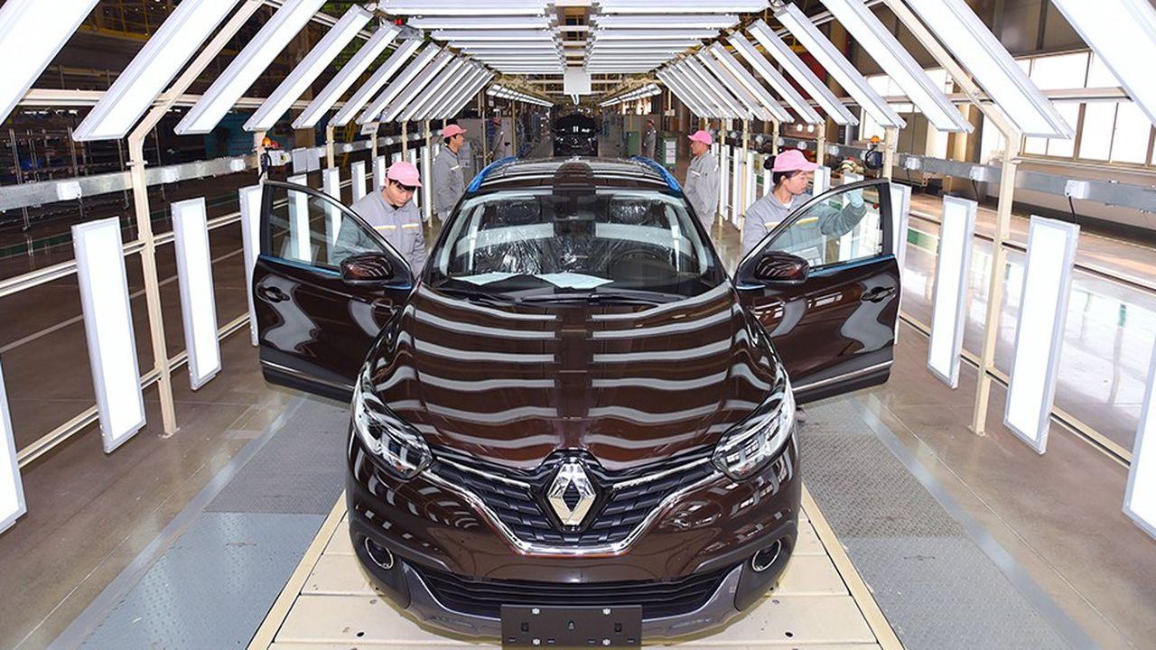 Bien qu'arrivé tardivement sur le marché chinois, Renault s'est donné pour objectif d'y vendre 550.000 véhicules d'ici à 2020.