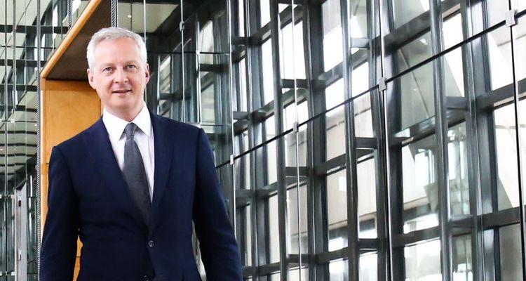 Bruno Le Maire, ministre de l'Economie