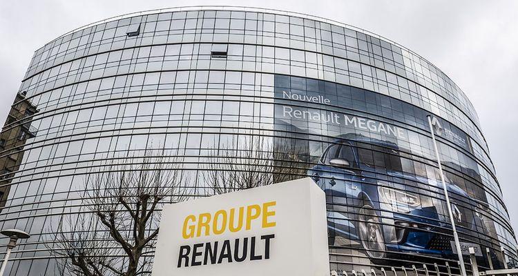 Siège social du groupe Renault à Boulogne-Billancourt