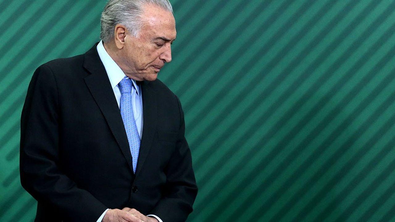 Michel Temer le président sortant, est accusé à son tour de corruption