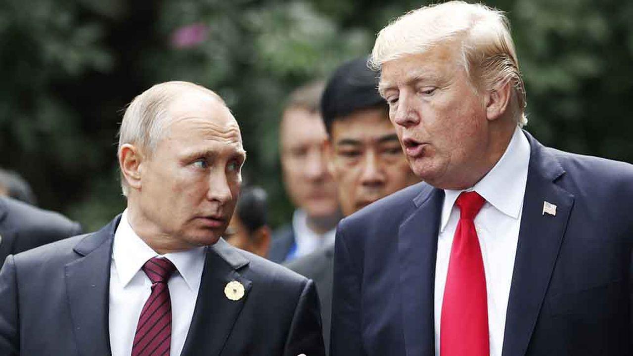 Les Etats-Unis ont menacé de suspendre le traité conclu avec la Russie en 1987 sur les missiles de portée intermédiaire.