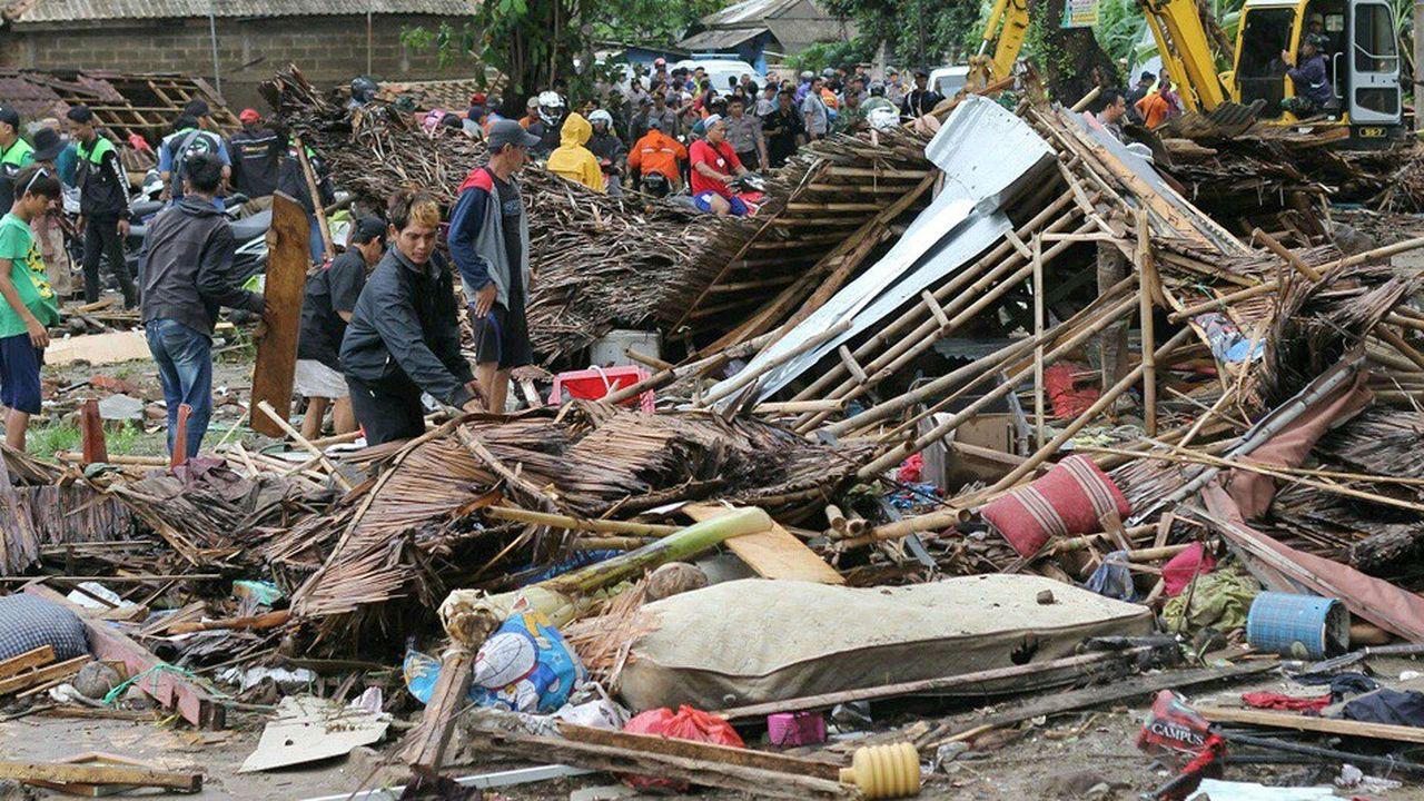 La mise en garde des autorités indonésiennes ne concernait qu'une marée montante anormale.