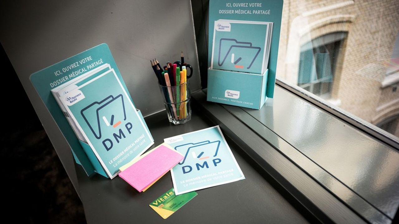 Le dossier médical partagé (DMP) fait l'objet d'un énième plan de relance.