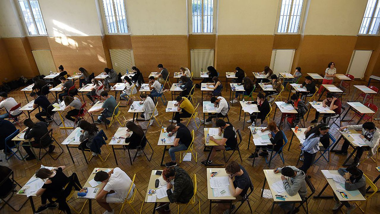 Les élèves qui sont actuellement en classe de seconde seront les premiers à tester le bac nouvelle formule, en 2021.