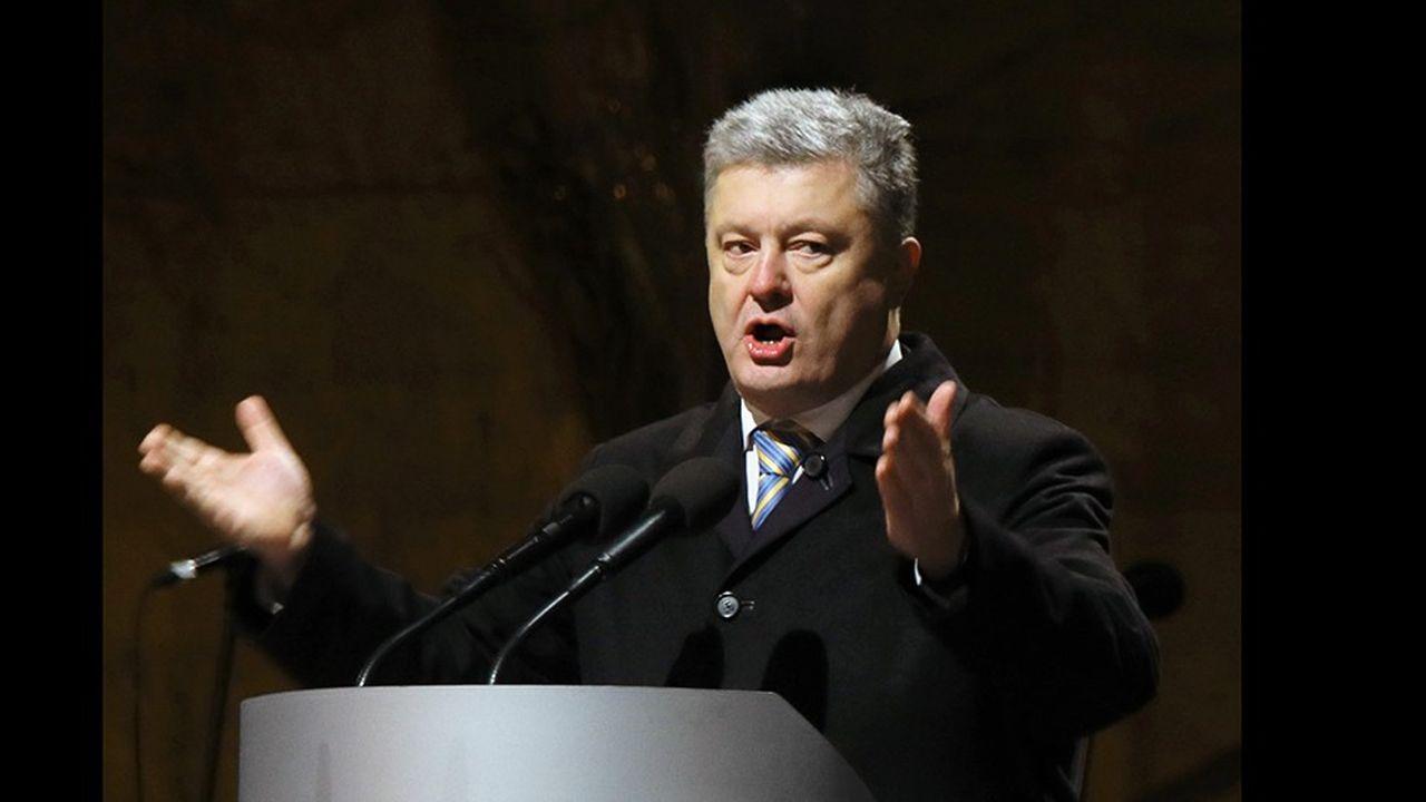 Fin novembre, le président Porochenko avait alerté sur un risque de «guerre totale» entre son pays et la Russie.