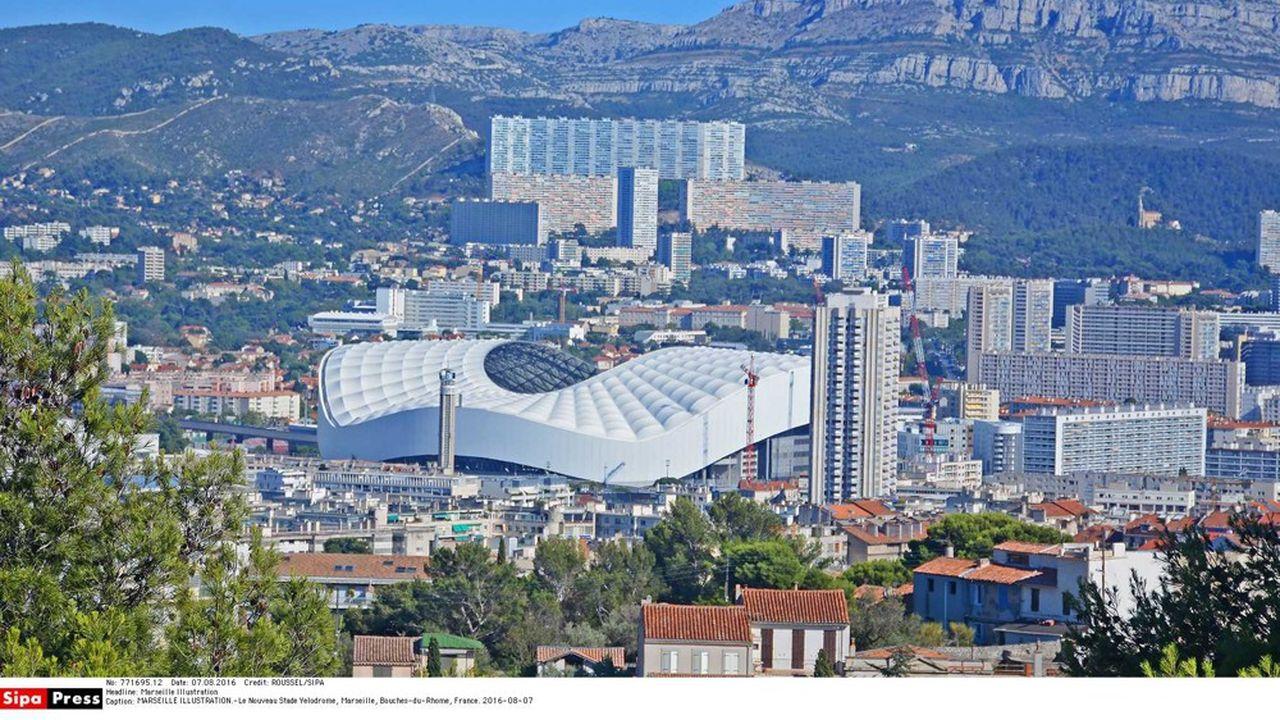 Le stade Velodrome, à Marseille.
