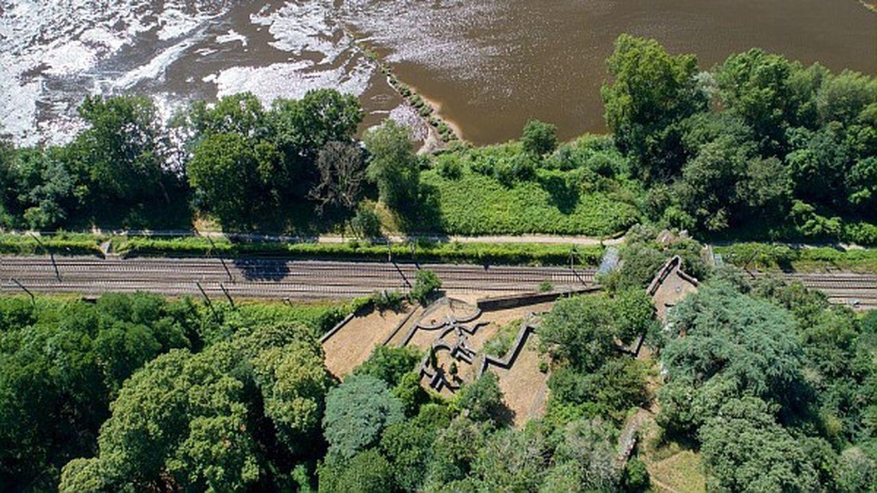 Maximilien Siffait a pensé et fait construire le jardin de1816 à1830.