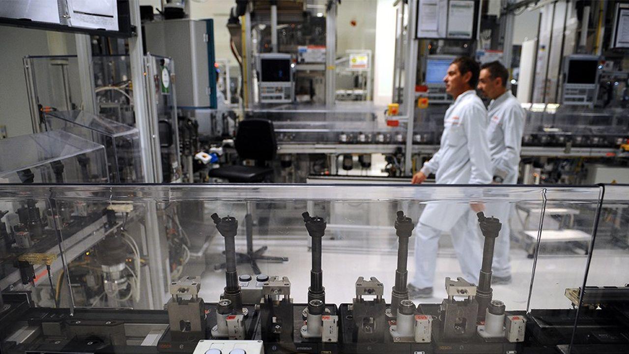 L'usine Bosch à Rodez, qui fabrique des injecteurs pour moteurs diesel, cherche à reconvertir une partie de sa production.