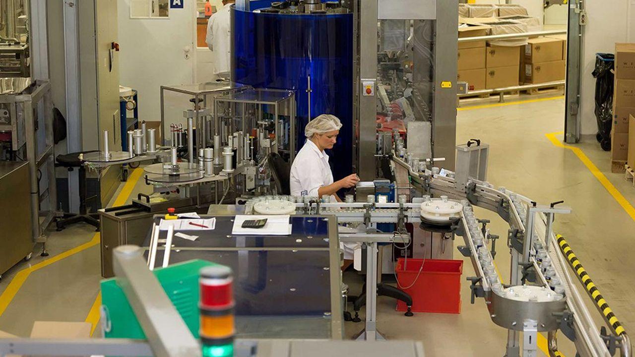 L'usine de cosmétiques de Beiersdorfà Poznan, en Pologne. Le gouvernement vient de décider d'ouvrir son marché du travail aux travailleurs philippins