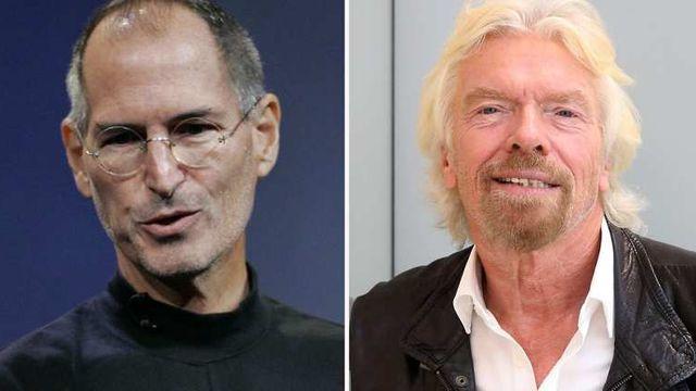 Le bonheur selon Steve Jobs et Richard Branson
