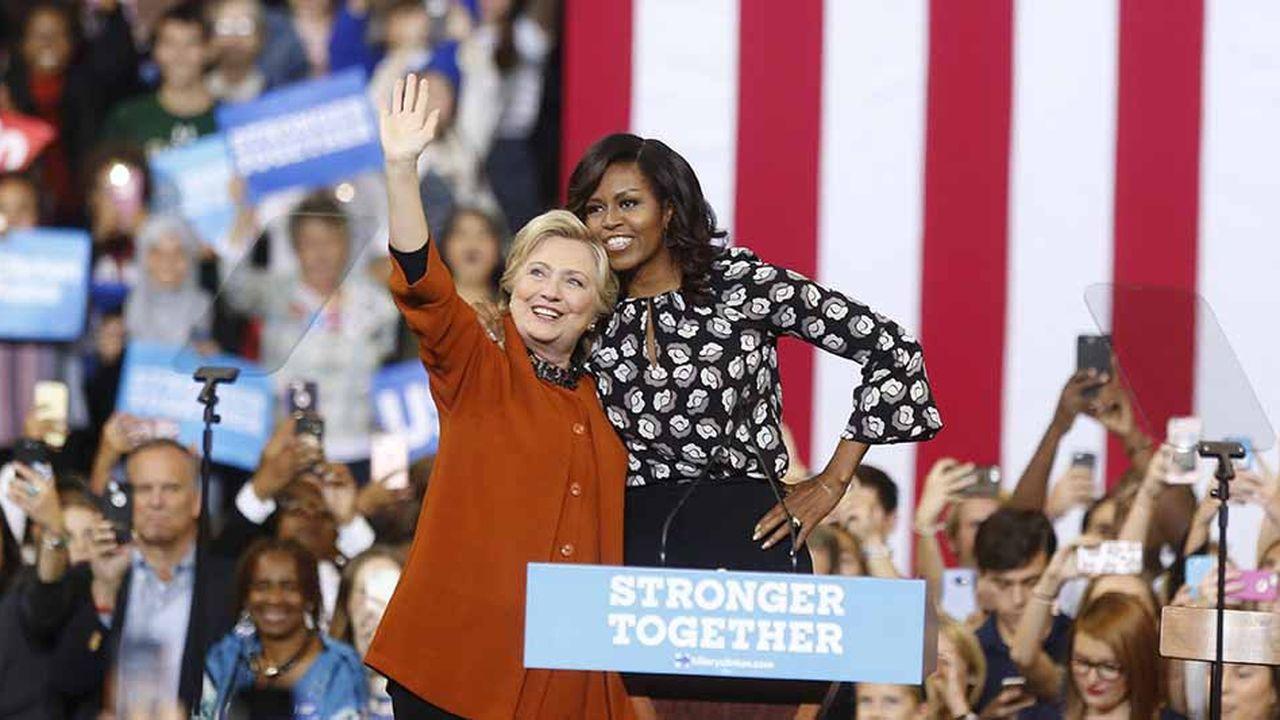 Pour la première fois en 17 ans, Hillary Clinton ne figure pas en tête de liste
