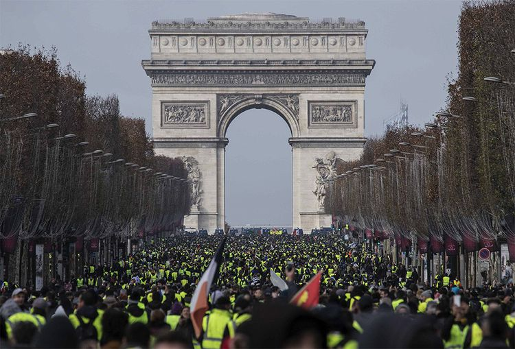 La première mobilisation des «gilets jaunes», le 17novembre, a rassemblé près de 290.000 personnes sur tout le territoire.