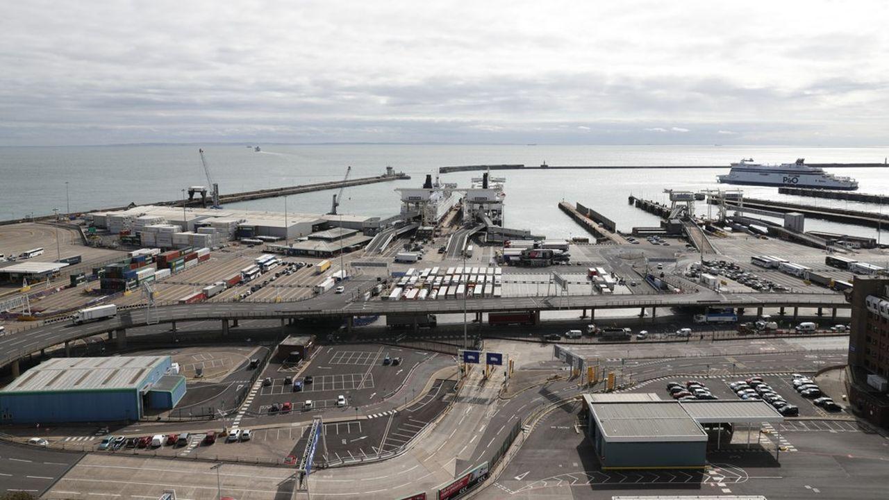 Ces liaisons additionnelles représentent environ 10% du trafic actuel au port de Douvres.