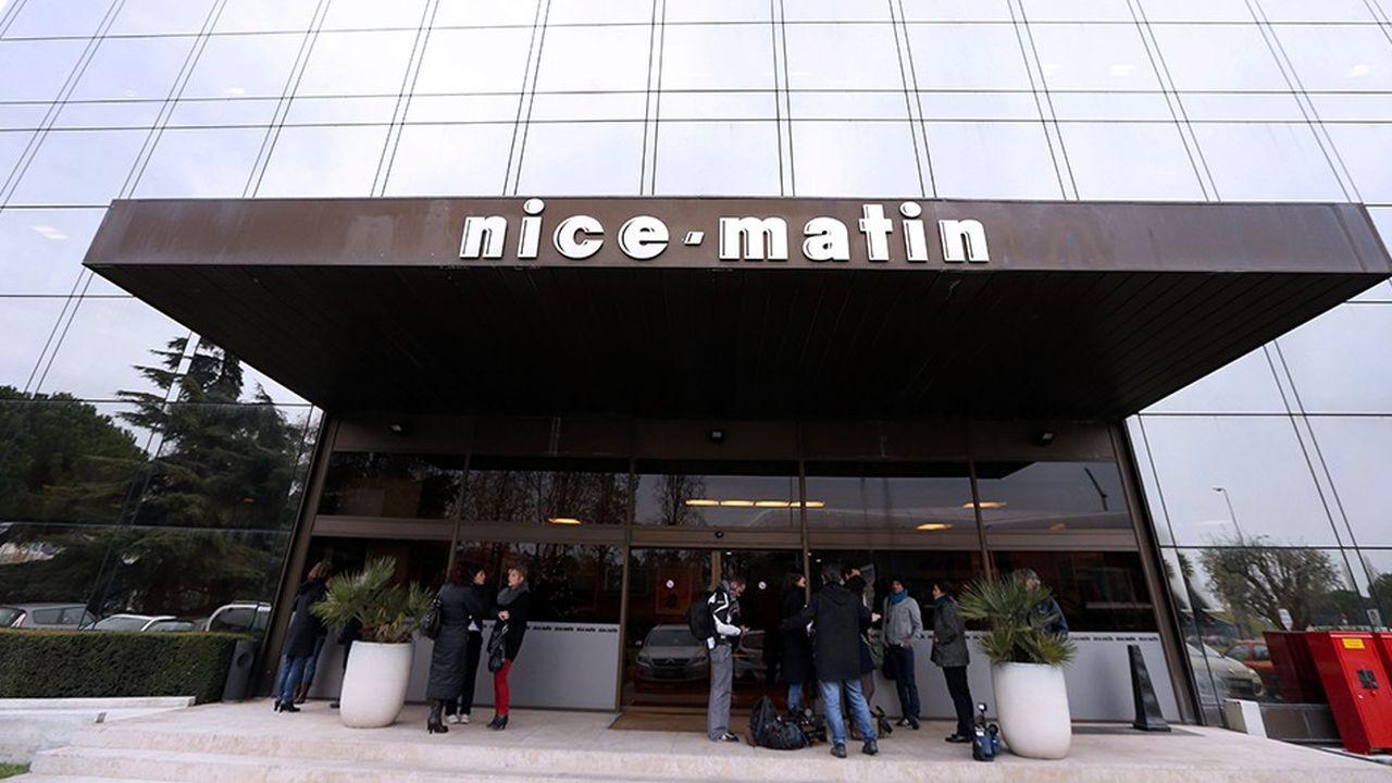 L'immeuble de Nice-Matin suscite beaucoup d'intérêt.