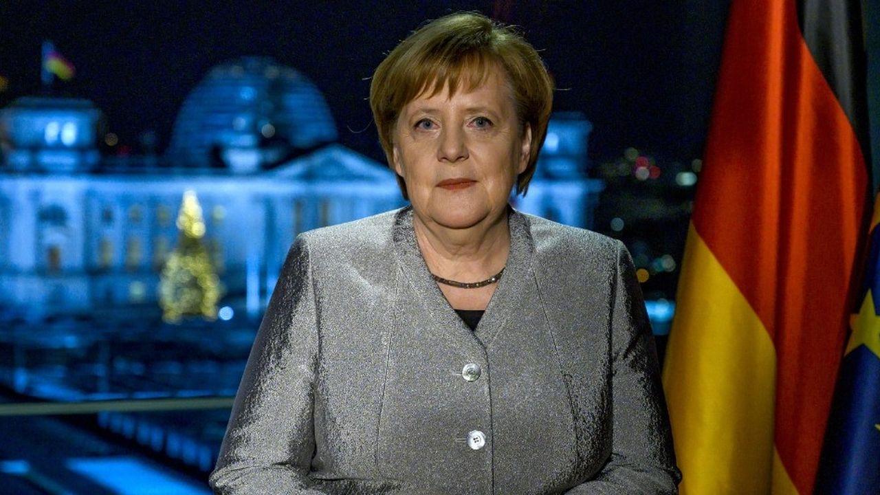 La chancelière allemande a quitté la tête de l'Union chrétienne-démocrate et devrait passer le relais lors des prochaines élections en 2021