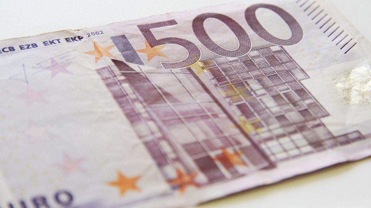 La BCE a décidé la fin de l'émission des billets de 500euros, la plus grosse coupure émise dans la zone euro