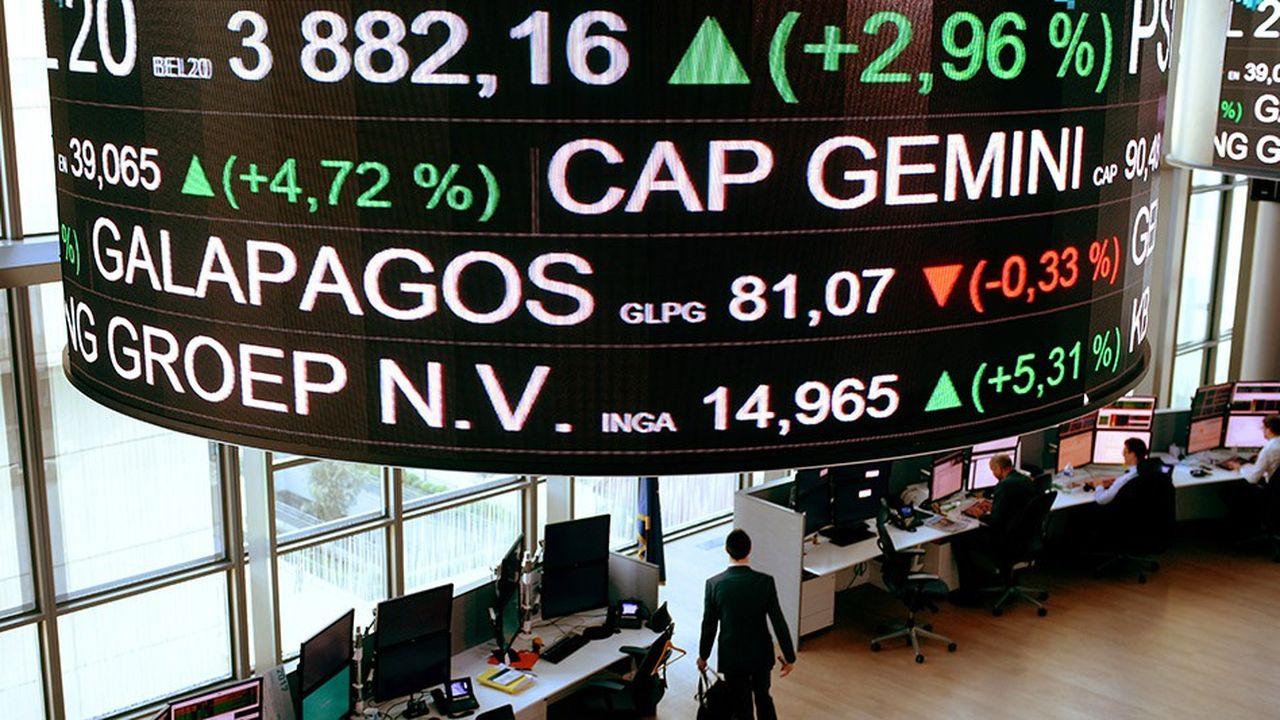 Les valeurs moyennes ont perdu plus de 20 % à la Bourse de Paris en 2018