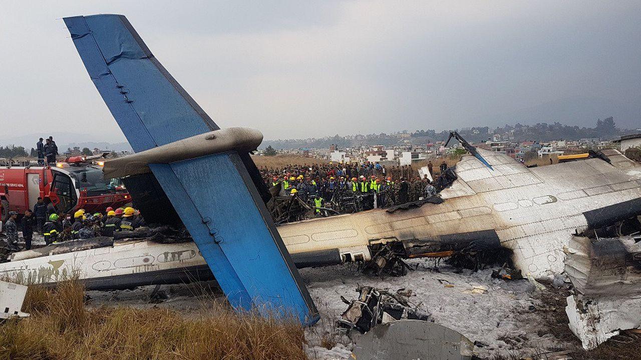 En mars, un avion s'est écrasé à son atterrissage à Kathmandou, au Népal causant la mort de 51 des 71 personnes à bord