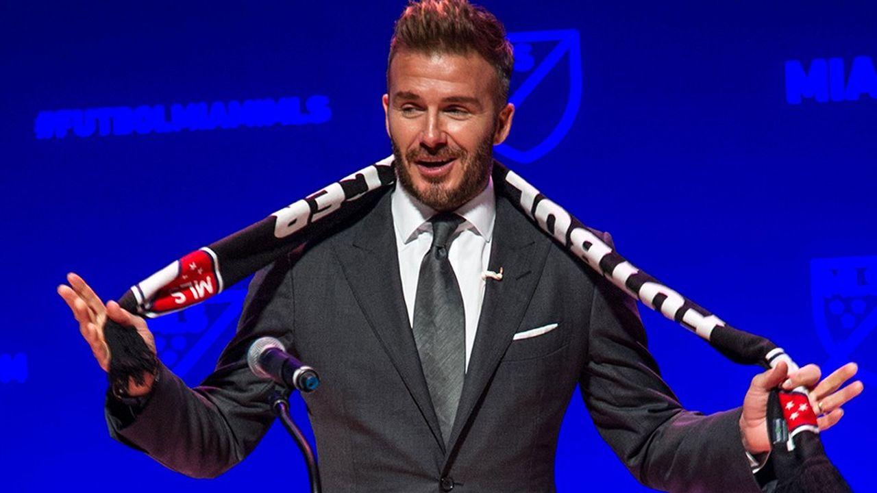 L'ancien footballeur David Beckham a racheté avec des investisseurs la franchise de l'Inter Miami.