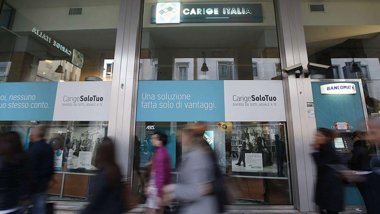 Entre2014 et2017, Banca Carige a perdu plus de 1,3milliard d'euros, principalement en raison de créances douteuses.