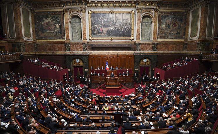 Lors de la réunion du Parlement en Congrès à Versailles, le 3juillet 2017.