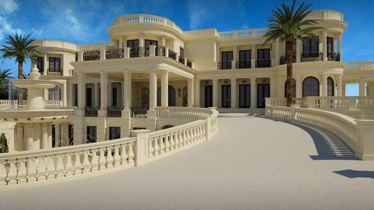 Cette Luxueuse Villa Du0027une Superficie De Plus De 5.000 M2 Sera Livrée Fin  2015.