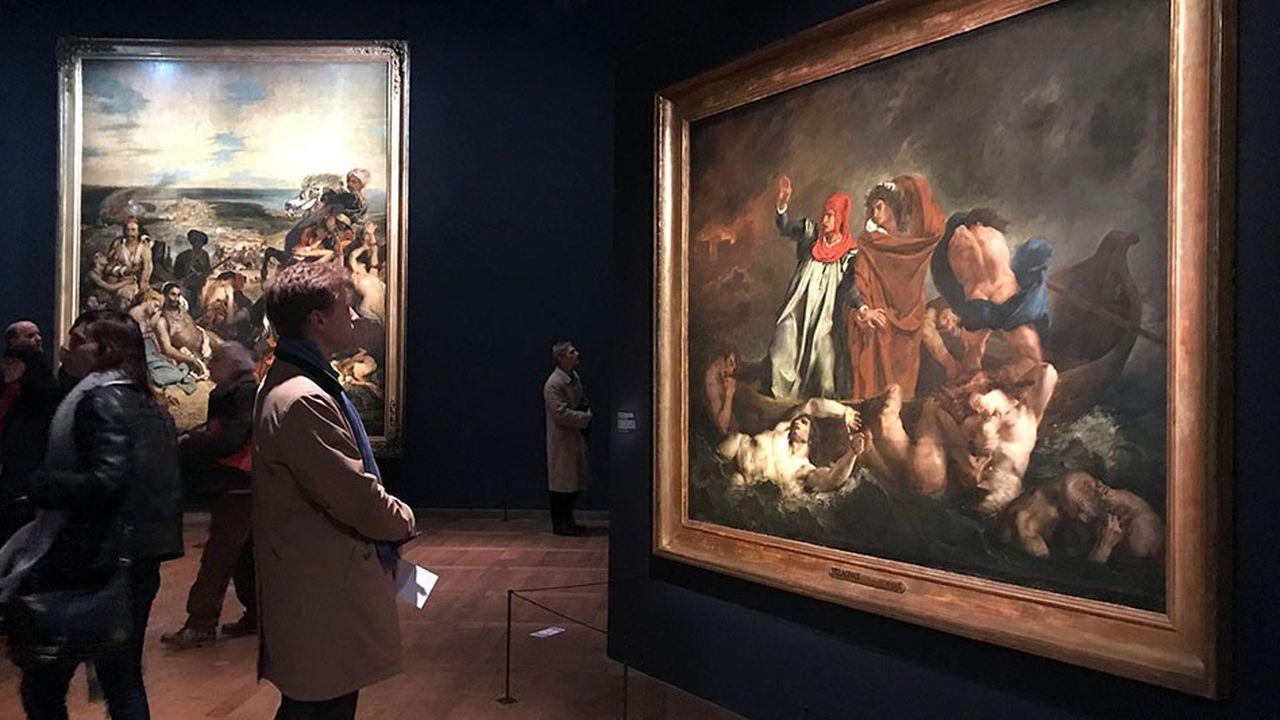 Le Louvre a enregistré cette année un chiffre de fréquentation inégalé pour un musée international de beaux-arts et d'antiquités. L'exposition Delacroix fait partie des éléments ayant contribué à ce succès.