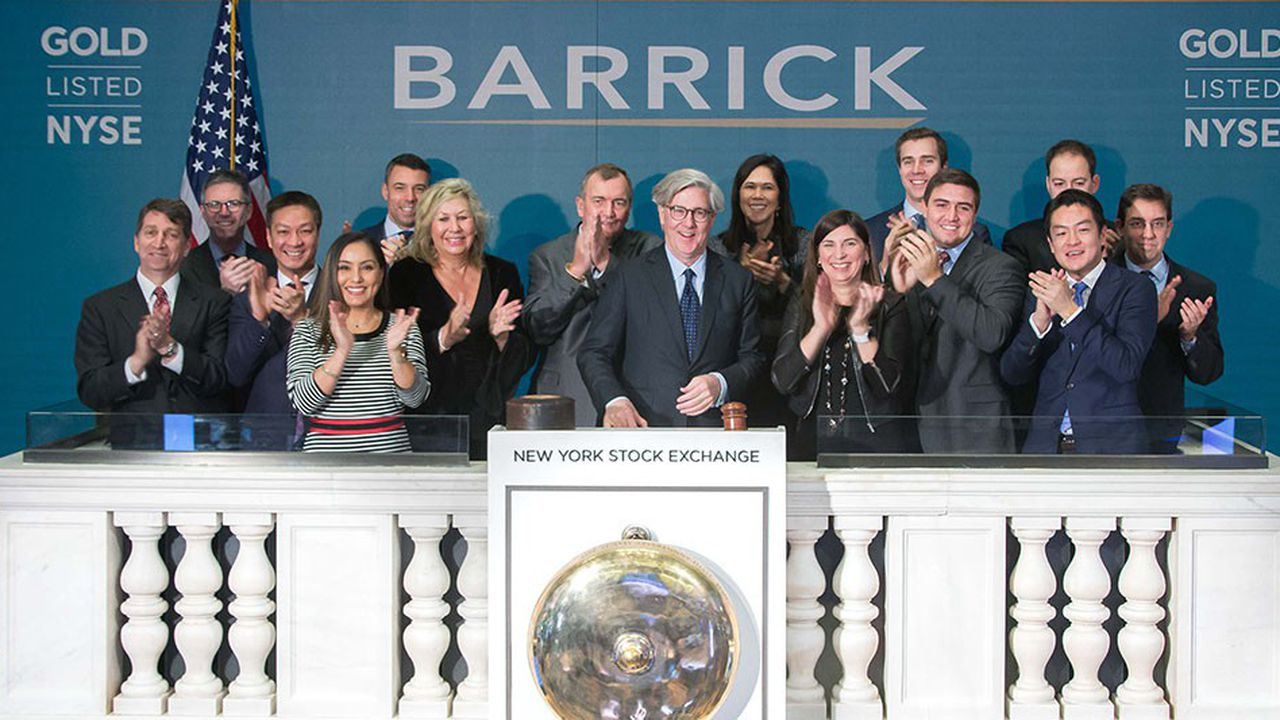 A la tête de Barrick, Mark Bristow et John Thornton veulent faire du numéro un mondial de l'or la compagnie la plus rentable du secteur.