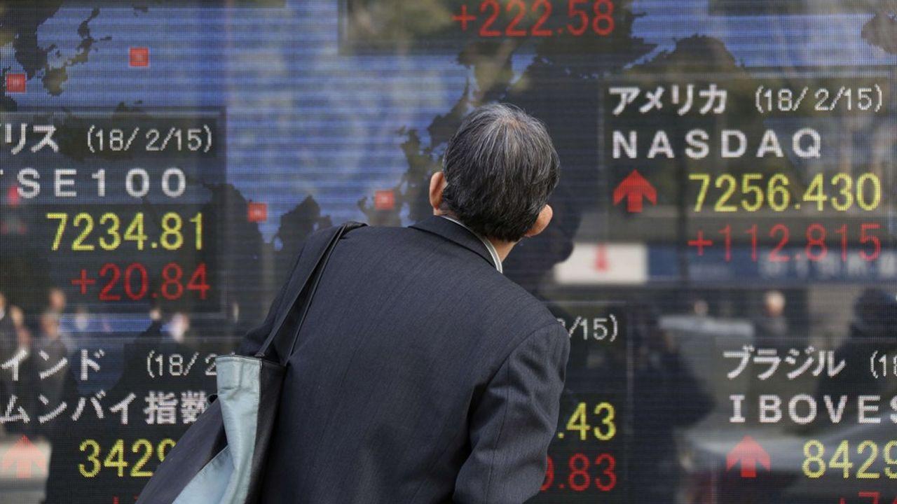 La Bourse de Tokyo a démarré l'année 2019 dans le rouge