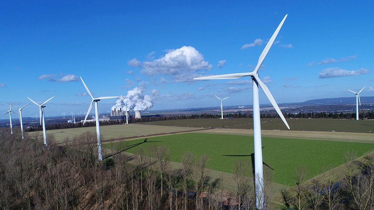 Pour la première fois, l'électricité a davantage été produite à base d'énergies vertes qu'à partir de charbon ou de lignite (38%, en baisse de 1,1 point).