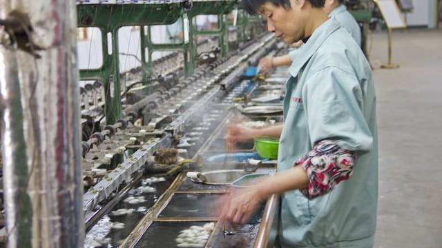 La production industrielle chinoise ralentit