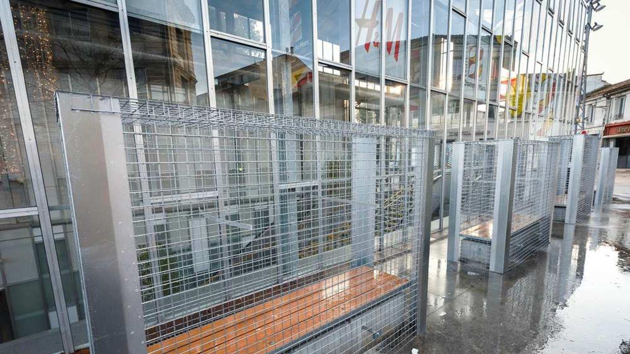 Angoulême Retrait Provisoire Des Grillages Anti Sdf Les Echos