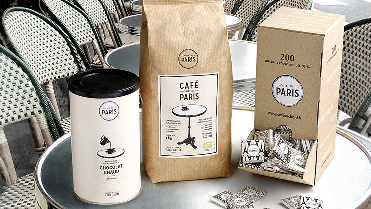 Le partenariat sous licence des Comptoirs Richard avec la Ville de Paris a donné naissance à 70 produits depuis 2014.