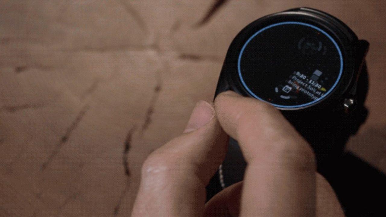 En partenariat avec LG, Google développe depuis 2015 un projet de montre intelligente répondant à la commande gestuelle