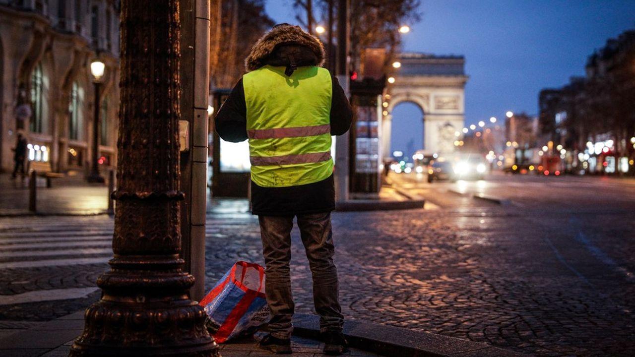 A Paris, deux principales actions ont été déclarées en préfecture, dont une sur les Champs-Elysées, haut lieu de contestation lors des précédents week-ends.