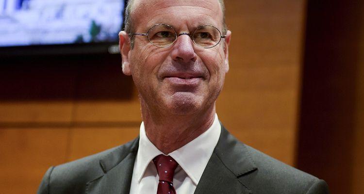 Eric Lombard, directeur général de la Caisse des Depôts