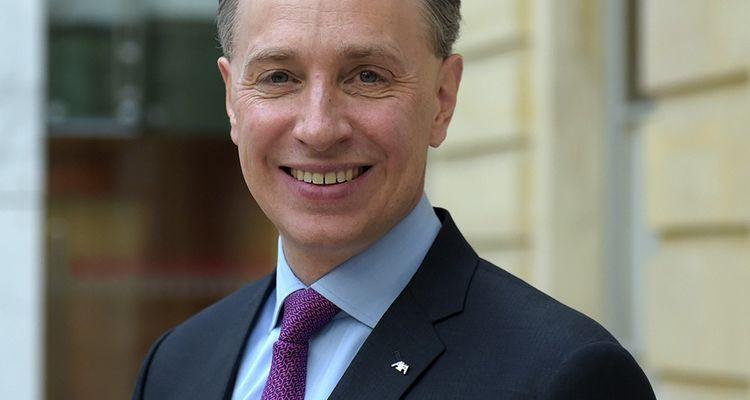 Thomas Buberl, PDG d'AXA