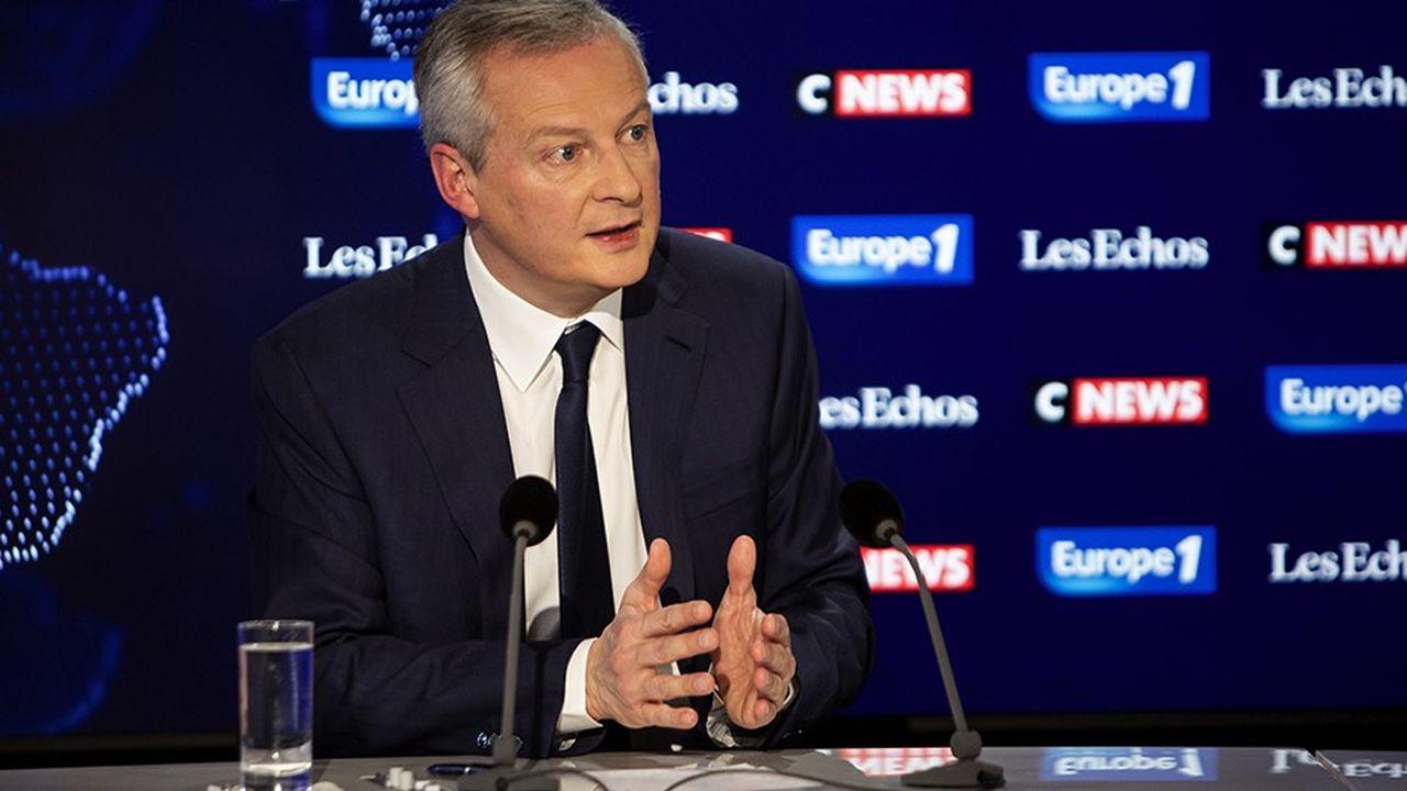 Bruno Le Maire était ce dimanche l'invité du « Grand-Rendez vous » Europe 1-CNews-« Les Echos »