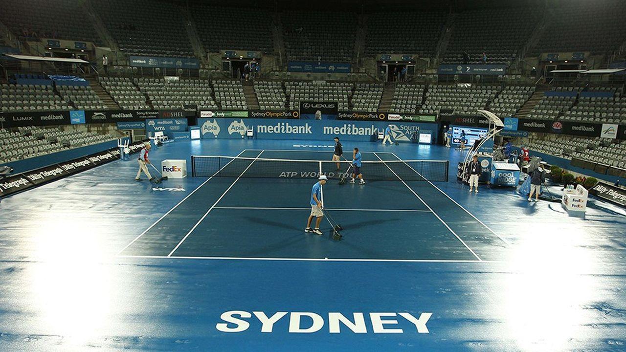 La première finale de l'ATP Cup se déroulera à la Ken Rosewall Arena de Sydney. Le complexe va être doté d'un nouveau toit.