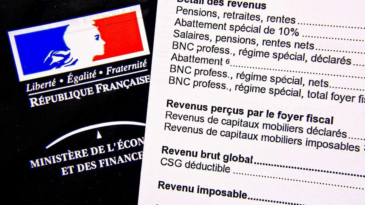 impot sur le revenu francia tranche