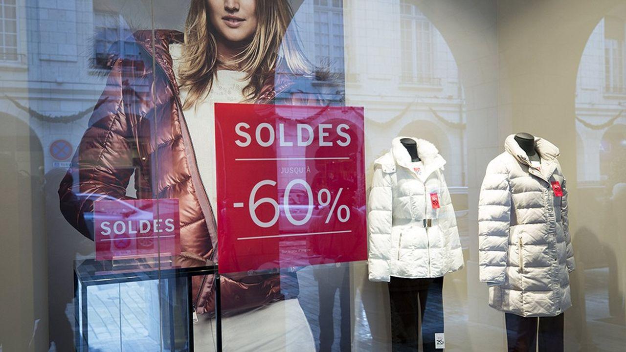 Les commerces indépendants d'habillement ont vu leurs ventes reculer de 20% en décembre.