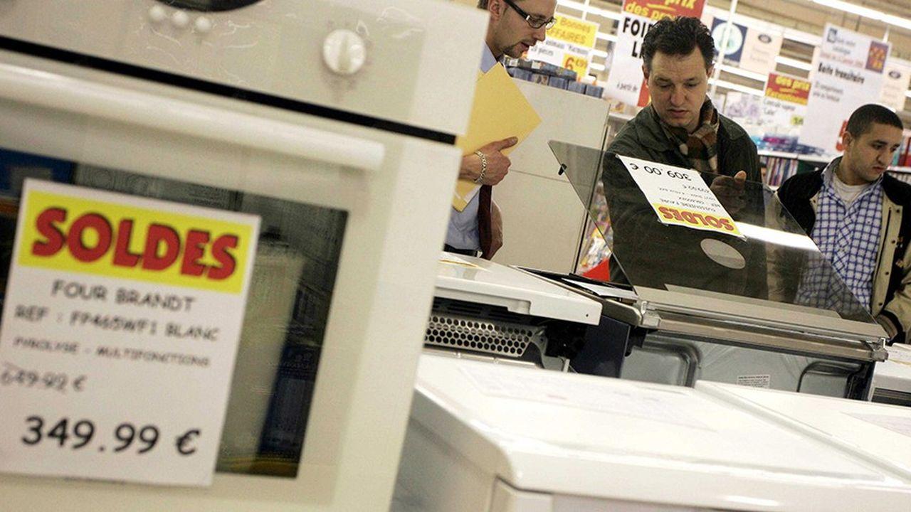 Les soldes sont aussi un temps fort pour les vendeurs d'électrodomestique.