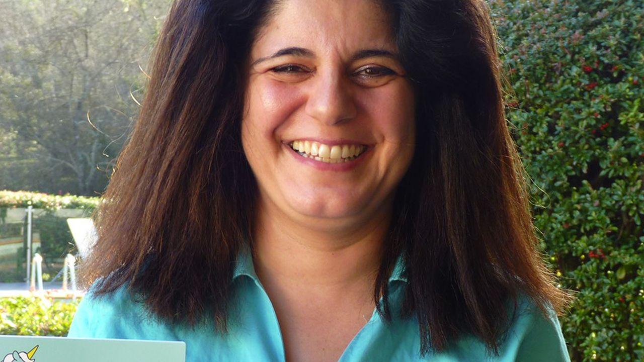 Guillene Ribière a écrit un livre, « Les start-up expliquées à ma fille ».
