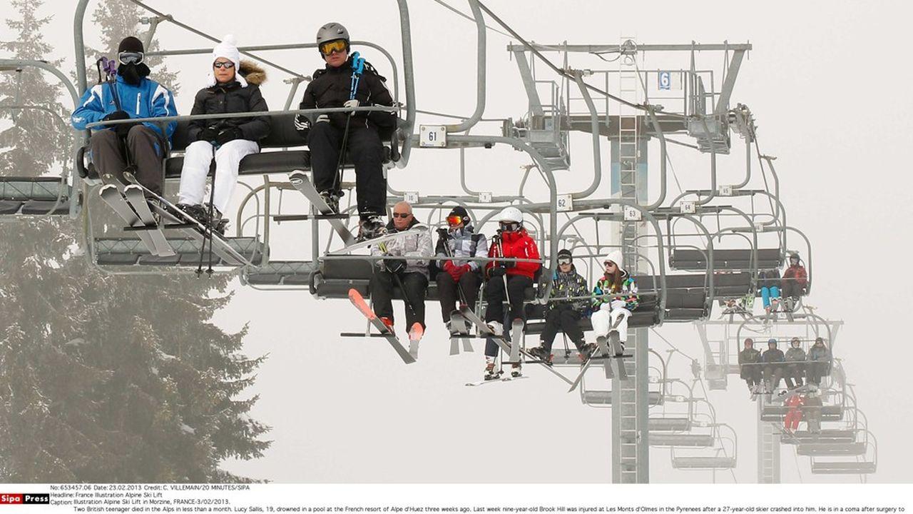 La plupart des stations de ski ont investi les réseaux sociaux.