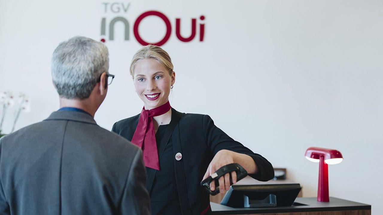 Des salons SNCF Grand Voyageur à des lignes comme Paris-Bordeaux ou Paris-Lille en passant par les réseaux sociaux, la griffe TGV Inoui monte progressivement en puissance.