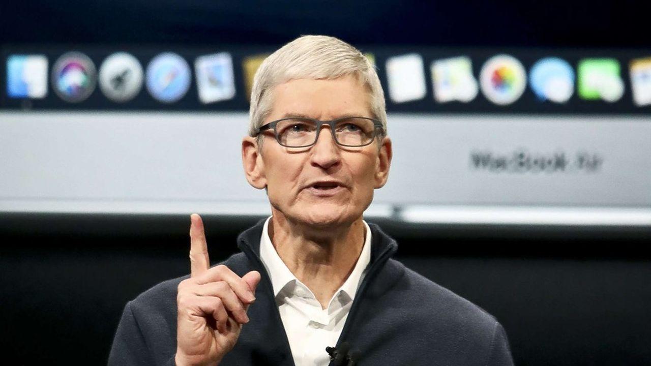 Tim Cook est le patron d'Apple depuis 2011