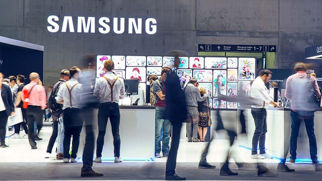 Samsung subit la concurrence croissante des constructeurs chinois dans le mobile.